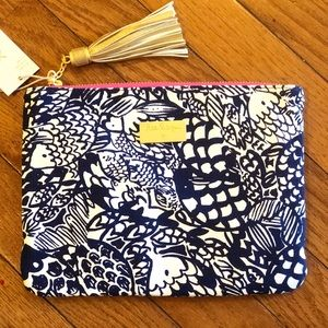 NWT Lilly Pulitzer For Target Upstream Clutch